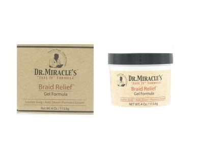 Dr Miracle's - Braid relief gel formula