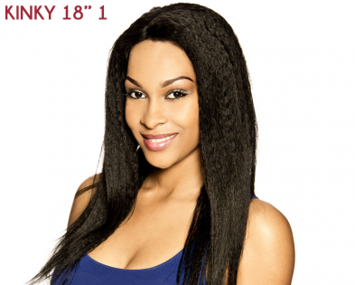 Lace Front Kinky Straight 18''