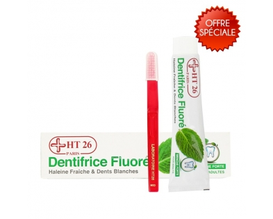 HT26 - Promo: Fluoride Toothpaste + 1 Toothbrush