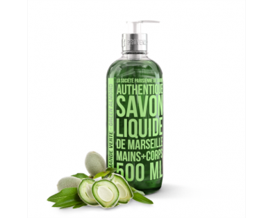 Marseilles liquid soap Green Almond