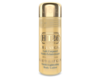 HT26 - Multi-Lightening body lotion Gold & Argan